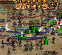 传奇世界网页版战斗场景截图